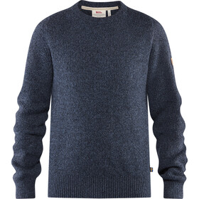 Fjällräven Greenland Re-Wool Crew Neck Heren, dark navy